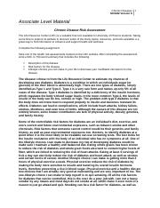 sci 162 week 6 chronic disease and outline Home essays sci/162 syllabus sci/162 syllabus topics: chronic disease outline |week 6 |80 essay about sci/162 week 1 assignment.