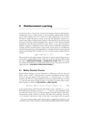 CSCI 6505 Reinforcement Learning