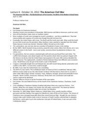 American civil war study guide