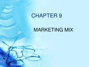 09 - Marketing Mix