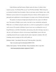 litr american literature since the civil war 1 pages litr quiz 1 essay 1