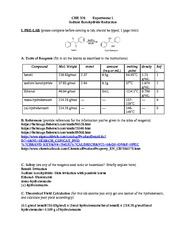 diels alder lab report How to calculate the theoretical yield of a diels-alder reaction a diels-alder reaction happens between 9 writing lab reports late at night will do that.