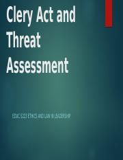 Clery Act Threat Assessment.pptx