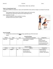 Pelvis,Hip,Knee Worksheet