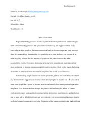 What_I_Care_About_essay