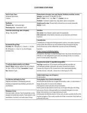 Amiodarone & Other Med Cards.docx