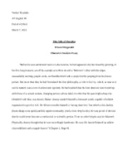 English Essay - This Side of Paradise