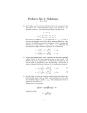 problemset5a solutions