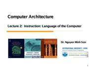 Son-CA_lec2&3_Instruction Language of the Computer
