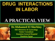 OB-drug-interactions