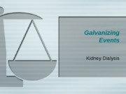 Galvanizing Events