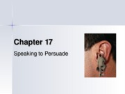 17-Speaking to Persuade
