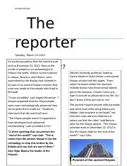 The reporter.docx