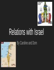 Relations with Israel.pptx