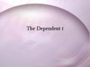 dependent_t