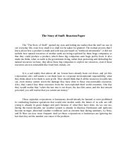 Story of stuff essays how to prepare a cv resume