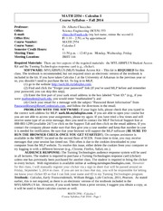 biology e mail and lecture syllabus fall Syllabus for marine biology - biology 477, fall term email: jkelliott@ syllabus, reading list, lecture materials.