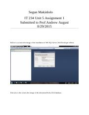 IT234 Unit 5 Assignment.docx