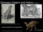 Dinosaur Origins and History