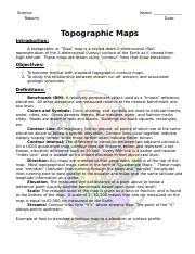 Topography Lab