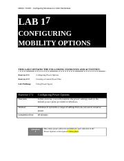 LAB 17 - 70-687R2  Worksheet 2013-03-23