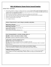 HEA 110 Behavior Change Project Journal Template (1).docx
