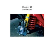 Chapter 14 - Oscillation