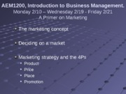 2-19 and 2-21 Marketing Primer