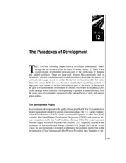 The_Paradoxes_of_Development