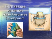 Lecture 6 - Climate change impacts on water resources