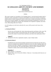 CLST 140- Syllabus-Fall 14