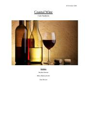 Case Study #7 Coastal Wines.docx