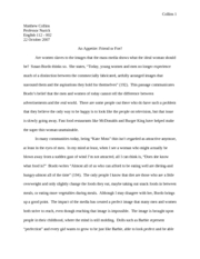English Unit II Paper