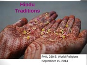 Week 4 day 3 of Hinduism