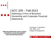 #02 SEC2 MOODLE ACC200 Intro to Business Fall 2013
