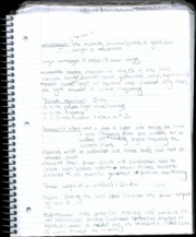 Green Engineering p7 Class Notes