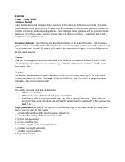 Auditing Exam 1 Study Guide Fall 2016-2.docx