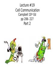 BB_LECTURE-19_Cell Communication-Part 2.pptx