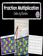 FractionMultiplicationColorbyNumberMultiplyingFractions.pdf