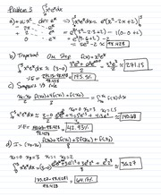Homework 12 Questions and Solutions