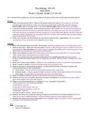 General Psychology Exam 3 Study Guide.docx