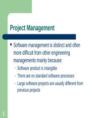 Chapter 22a - Project Management