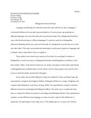 Psych Research Paper 1 Bilingualism.docx