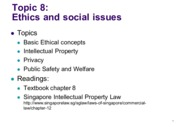 Topic8-EthicsSocial