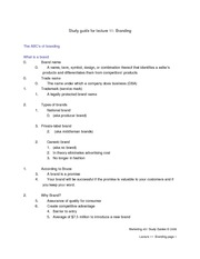 Study_Guide_for_Lecture_11_-_Branding