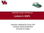CompArch-Lec05-MIPS