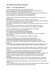 Business Law Test Bank Questions Chapters 1-4.pdf