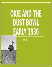 Okie and the Dust Bowl