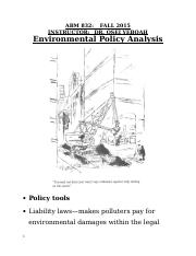 Environmental Policy Analysis.doc