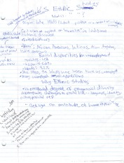 Class Notes on Racil Disparities